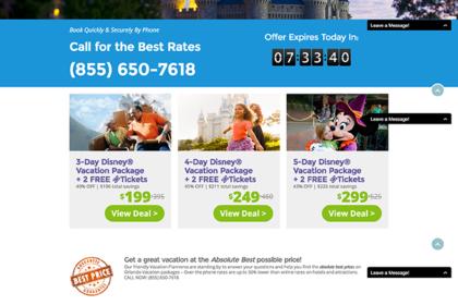 Landing Page Hotelscorp